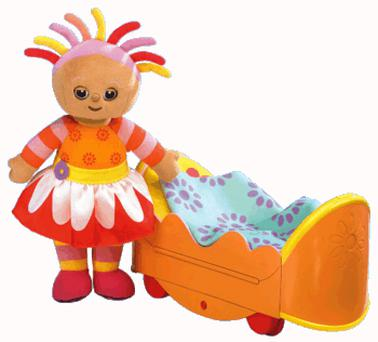 In The Night Garden Upsy Daisy and Her Chase and Play Bed, Hasbro (£34.99)
