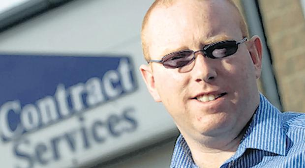 Rory McNaughton, Managing Director, Contract Services
