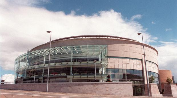 Belfast:Waterfront Hall.