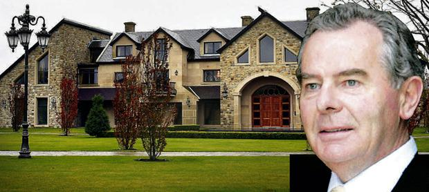 Despite his multi-billion pound fortune, Fermanagh tycoon Sean Quinn lives just a few miles down the road from where he was born