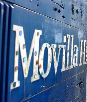 Movilla High School in Newtownards