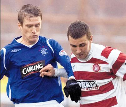 Steven Davis is looking forward to linking up with Barry Ferguson again in the heart of the Rangers midfield