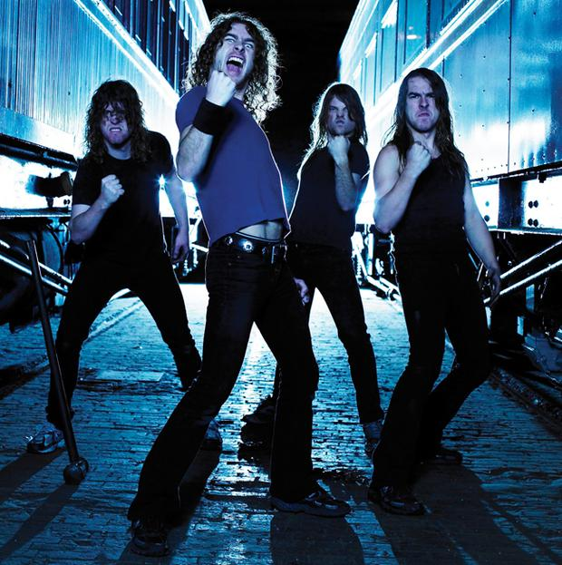 Runnin' Wild: Airbourne's debut album is the first of a five-album deal