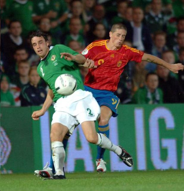 Michael Duff (left) hopes to play in the Premier League