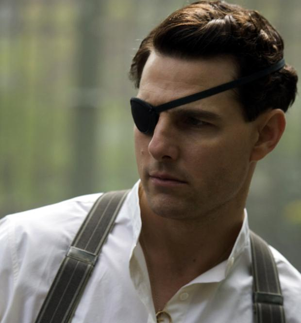 Tom Cruise in his role as Nazi German Colonel Claus von Stauffenberg