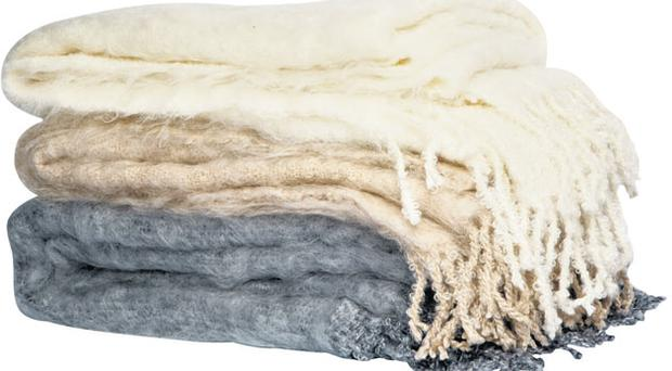 <b>Mohair throws</b><br/> Colin Firth and wife Livia Giuggioli's eco emporium has these gorgeous pastel mohair throws among its treasures. Made in South Africa under fair-trade conditions, they come in three sizes: single (110cm x 190cm); double (190cm x 220cm); and king (200 x 220cm)<br/> <b>Price:</b> small £138, medium £260, large £315 www.eco-age.com; 020-8995 7611