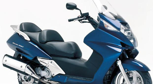<b>Honda Silverwing</b><br/> For the more mature rider who prefers the maxi-style of riding, the Silverwing should appeal to scooterists with 'Easy Rider' fantasies. Ideal for touring, its powerful 582cc engine is enough to zip you up the motorway, and it has a huge storage compartment under the seat.<br/> <b>Price:</b> £5,975 - www.honda.co.uk