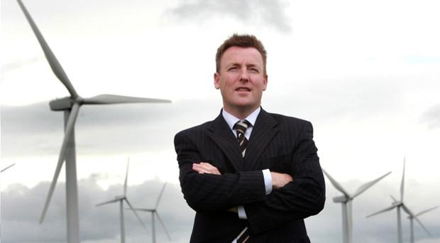 Dominic Costello, founder of Wind Energy Direct, announced plans to build wind turbines for industry across Ireland.