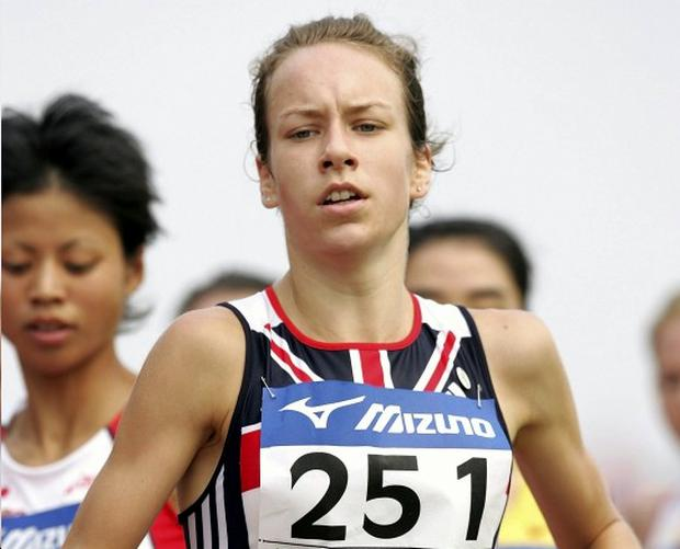 Stephanie Twell is tipped to claim the honours at Antrim tomorrow
