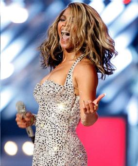 Bootylicious babe: Beyonce is Belfast-bound in May