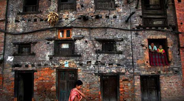 Another brick in the wall: In Bhaktapur, much of the historic architecture has been preserved