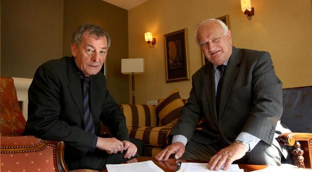 Denis Bradley and Lord Eames release their report this month