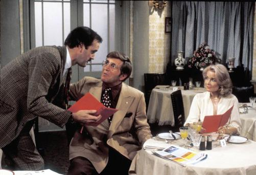 The live dining experience is a tribute to the Fawlty Towers TV show