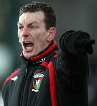 Glentoran boss Alan McDonald
