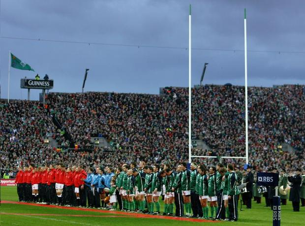 The rugby match between England and Ireland at Croke Park in February 2007 netted a bumper pay packet for GAA but now the IRFU are sticking with Landsdowne Road