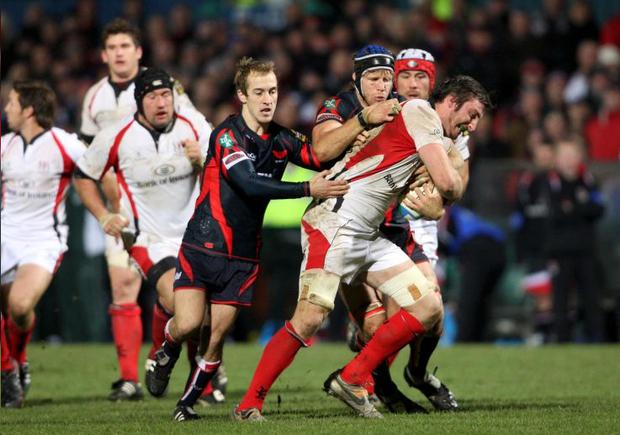 Ulster second row Ed O'Donoghue can't wait to take on Harlequins at Ravenhill