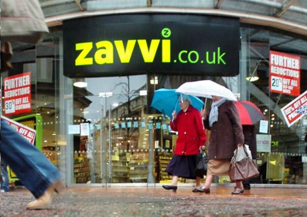 Staff at Zavvi are facing redundancy after more of the chain's stores were closed