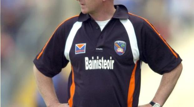 Armagh manager Peter McDonnell
