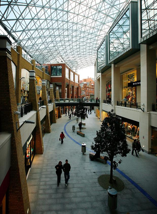 House of Fraser, Hamleys and Coast have stores in Victoria Square Belfast