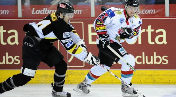 Andrew Martin will miss out for the Belfast Giants this weekend, as injury rules him out after returning for just four matches