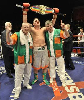 Martin Rogan won the Commonwealth title on Saturday night