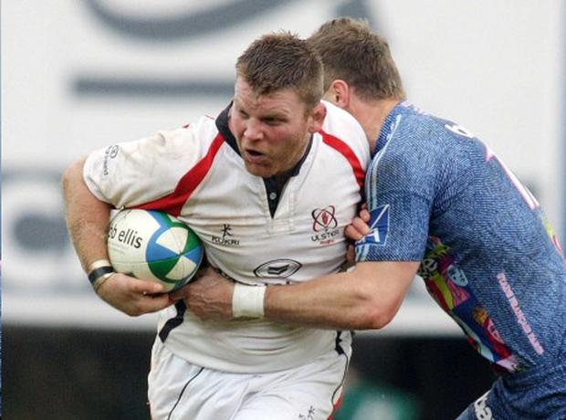 Nigel Brady made his Ulster debut in 2002