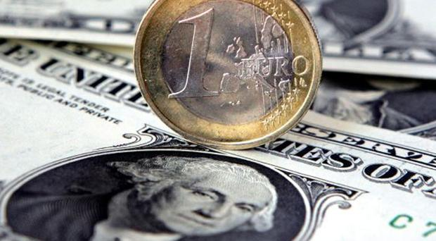 Both the dollar and the euro have made gains while sterling falls