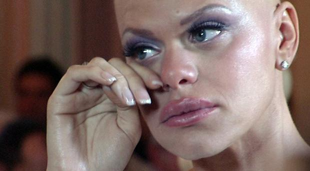 Jade Goody on her wedding day