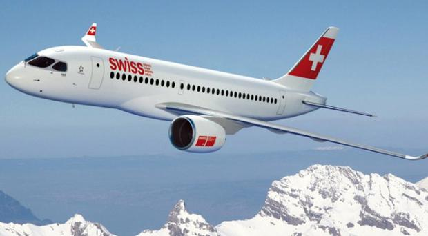 Lufthansa's subsidiary, Swiss International Air Lines, will be the launch customer for the Bombardier C-Series aircraft
