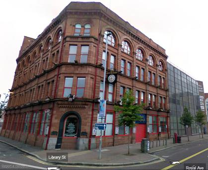 Belfast Telegraph offices on Google Maps Street View