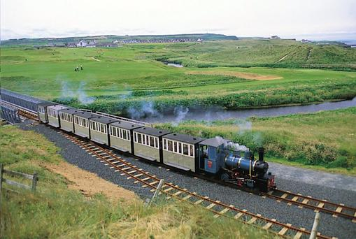 The Rail Thing: Bushmills narrow gauge train