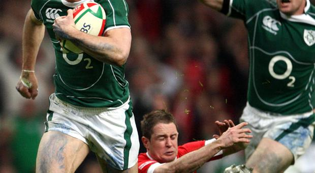 Ireland play Wales in their Grand Slam decider, Cardiff, March 21, 2009