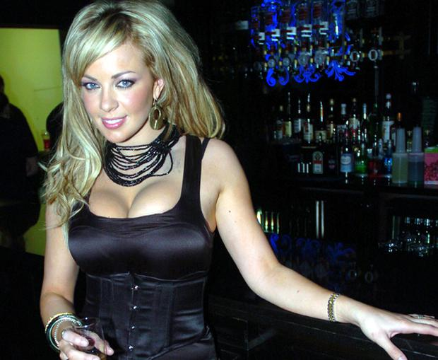 Gemma Garrett at Mint Nightclub's first birthday bash