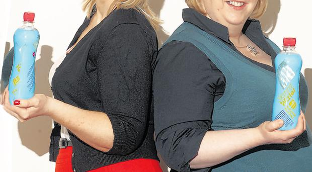 Helen Carson (left) and Kerry McKittrick