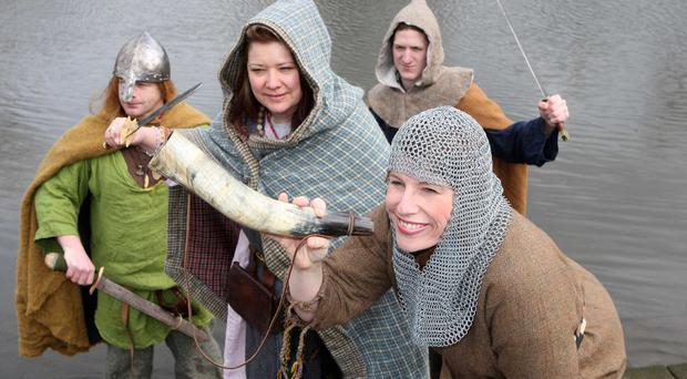 Karen_Walker_NSPCC_community_fundraising_manager_joins_her_Viking_friends_in_the_search_for_new_recruits_to_compete_in_the_Viking_Boat_Races.jpg