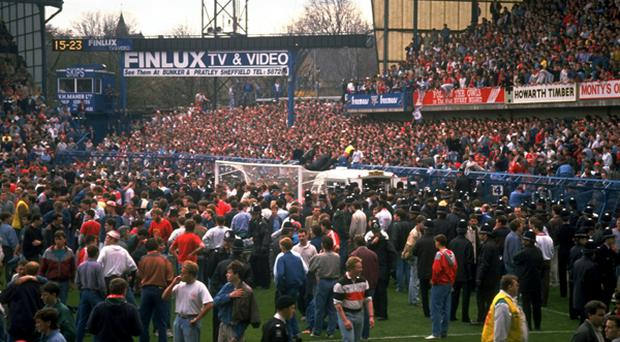 The Hillsborough tragedy - 1989
