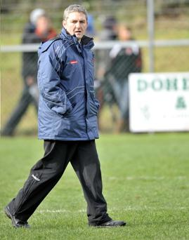 Derry manager Damian Cassidy