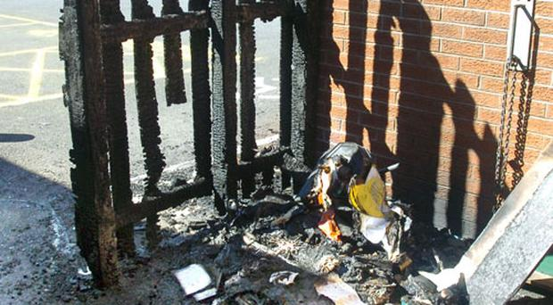 Damage to the cost of £10,000 was caused at Braniel Primary School due to an arson attack on Saturday night