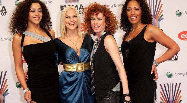 Nadja Benaissa (far right) with her No Angels bandmates. Benaissa is alleged to have had unprotected sex with three people without telling them that she was HIV positive