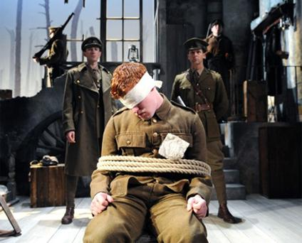 Conflict: The dramatisation of a young deserter has plenty of modern-day resonance