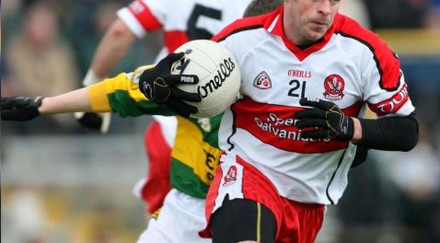 Derry's Kevin McCloy