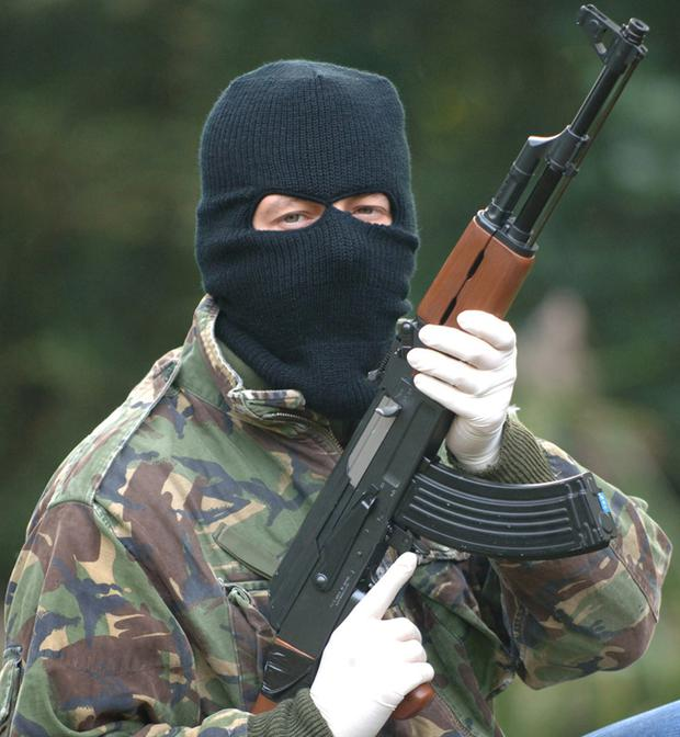 A police and intelligence assessment on the level of paramilitarism was ordered following an IRA-linked murder of a man in August. (File photo)