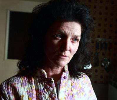 Troubled: Michelle Fairley as Ann Best