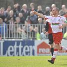 Cliftonville midfielder Barry Johnston