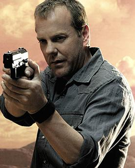Sutherland as Jack Bauer