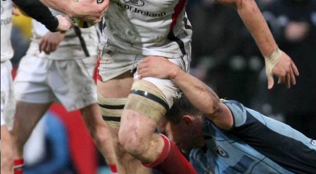 Stephen Ferris will be a key man for Ulster tomorrow night