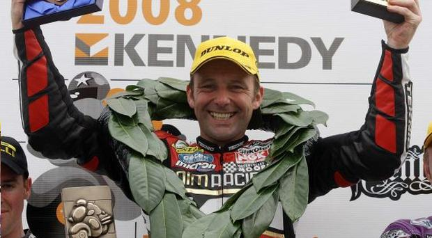 Steve Plater is hoping to repeat last year's success at the North West 200