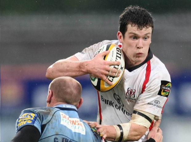 Ian Whitten has been called-up to replace fellow Ulsterman Paddy Wallace