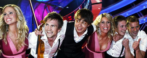 Alexander Rybak of Norway is seen after he won the final of the Eurovision Song Contest