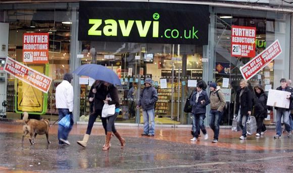 The recent closure of Zavvi shops is a reminder of the ups and downs of the commercial property market.